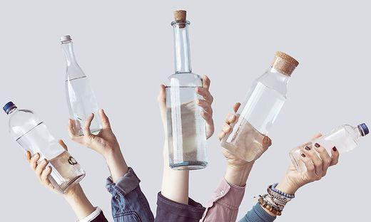 Ist Wasser aus Plastikflaschen ungesund?