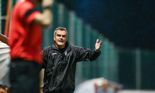 Austria-Coach Robert Micheu