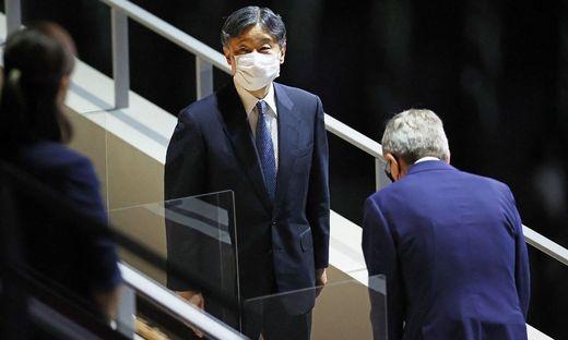 Japans Kaiser Naruhito eröffnete die Olympischen Spiele