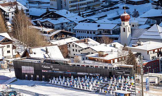 In St. Anton am Arlberg wurden intensive Polizeikontrollen durchgeführt