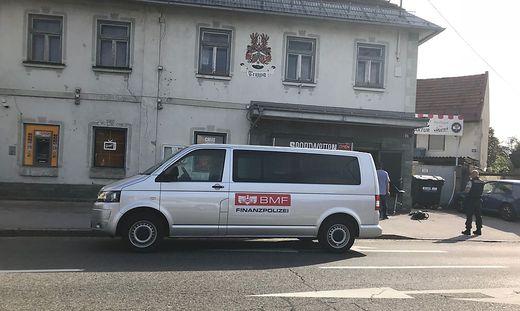 Großeinsatz der Finanzpolizei am Donnerstag in Klagenfurt