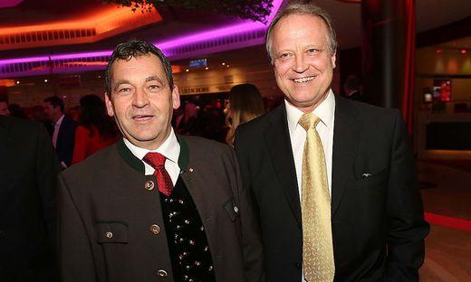 Nikel (links) und Klement wollen bei der Nationalratswahl antreten