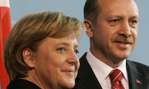 Recep Erdogan, Angela Merkel