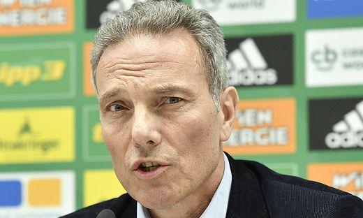 FUSSBALL TIPICO BUNDESLIGA: PK - SK RAPID WIEN: KRAMMER