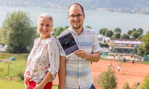 Sport App Start-Up-Unternehmer Elpis Dirninger und Klaus Fluch