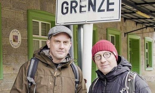 Sebastian Bezzel und Simon Schwarz