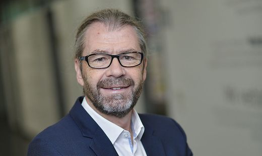 Siegfried Spanz ist Geschäftsführer der FH Kärnten