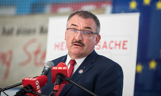 Jakob Strauß, Bürgermeister von Sittersdorf