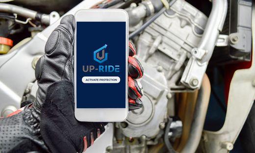 Die App UP-Ride lernt vom Fahrstil des Fahrers