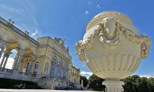 Aufregung in Schönbrunn