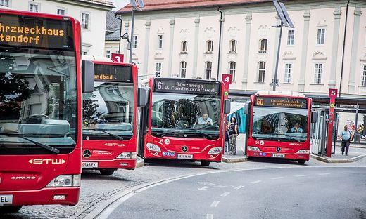Der Busverkehr in Klagenfurt soll attraktiver werden