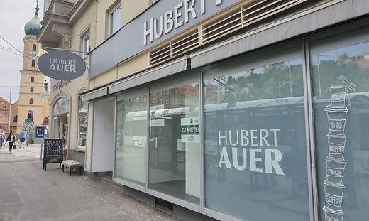 Vor Kurzem zugesperrt: die Hubert-Auer-Filiale am Südtiroler Platz in Graz