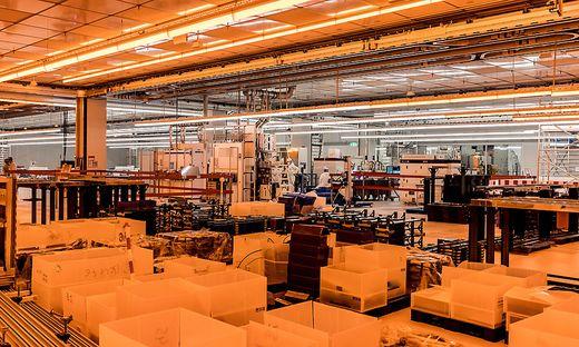 """Bis zum Spätsommer wird die neue Fabrik """"ready for production"""" sein"""