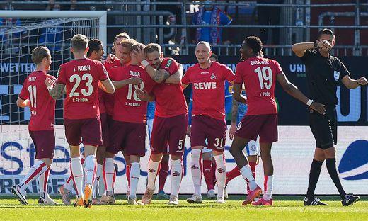 SOCCER - 1. DFL,  Kiel vs Koeln