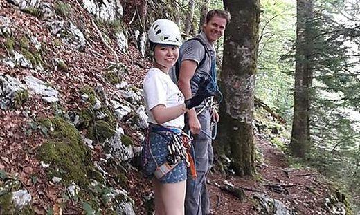 Klettersteig Oberösterreich : Sandalen statt bergschuhe: bergrettung barg chinesische touristen