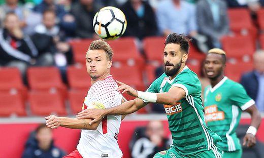 Liga-Konkurrenten: Salzburg und Rapid