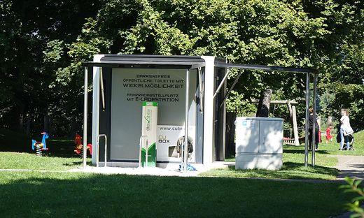 Das neue öffentliche WC im Europapark