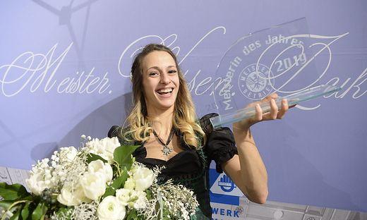 Die 26-jährige Bäckermeisterin Yvonne Graßhoff aus Weißkirchen wurde in Graz bei der Meisterbriefverleihung zur Meisterin des Jahres gekürt