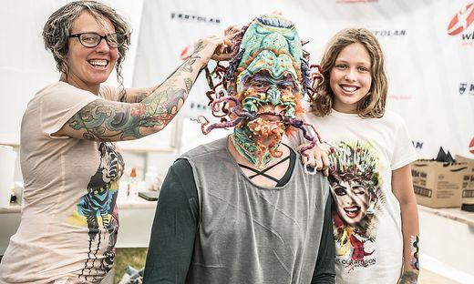 Rundgang WBF World Bodypainting Festival Klagenfurt 2018