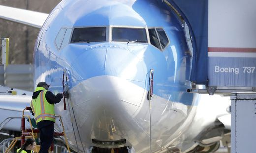 Der Unglücksflieger Boeing 737 Max macht wieder Probleme