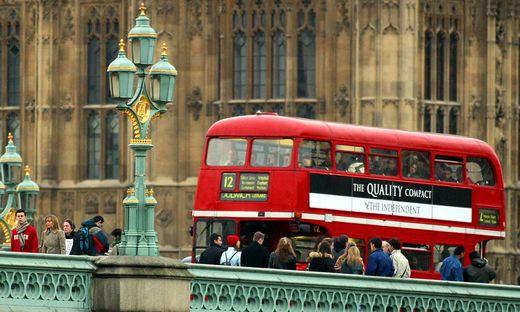 Londons Busse sollen mit Kaffeesatz fahren