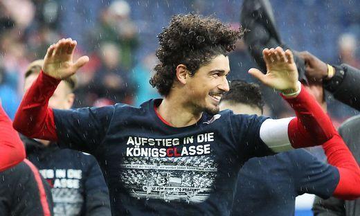 Andre Ramalho jubelt auch über die Qualifikation für die Champions League