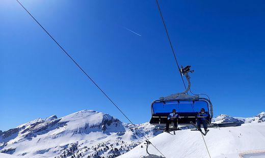 Die Skigebiete mussten im ersten Lockdown schließen