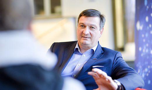 Wirtschaftskammer-Präsident Jürgen Mandl