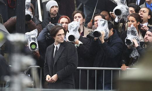 "Robert Pattinson beim ""Batman""-Dreh in Liverpool"