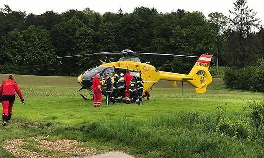 Einsatz für den C16 in Oberrettenbach