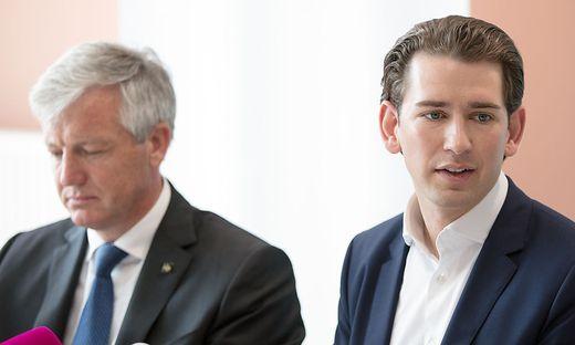 Helmut Kern und Sebastian Kurz: 2017 war Kern als damaliger Leiter des Wiener Krankenhauses der Barmherzigen Brüder noch in die Erstellung des ÖVP-Programms zum Thema Gesundheit und Pflege involviert