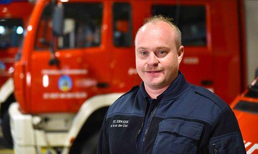 Markus Korath steht der FF St. Veit nun als neuer Kommandant vor