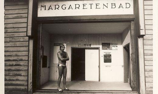 Der alte Eingang zum Bad. In den 80er Jahren wurde es komplett umgebaut