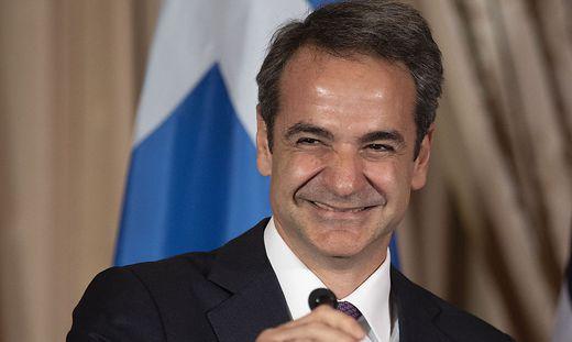Der griechische Ministerpräsident Kyriakos Mitsotakis