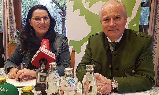 Cornelia Niesenbacher und Hans Seitinger gingen für die ÖVP ins Rennen