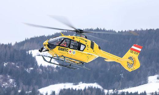 THEMENBILD, Flugrettung mit Notarzt-Hubschrauber, Christophorus 14