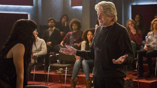 Michael Douglas als Schauspiellehrer