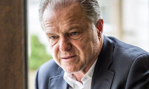 Ex-GAK-Präsident Peter Svetits