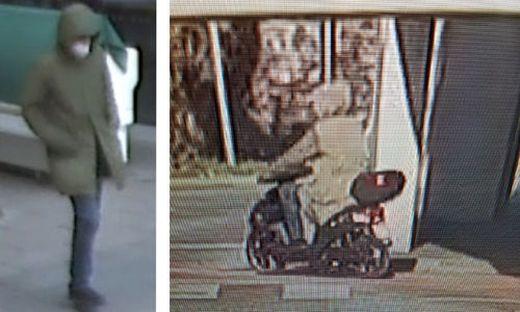 Fahndungsbilder, die die Polizei nun veröffentlicht hat