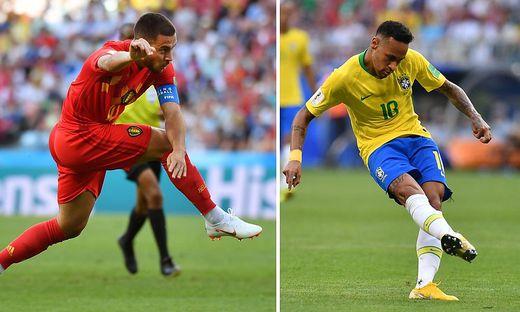 Belgien nach 2:1-Sieg gegen Brasilien im WM-Halbfinale