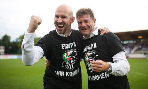 Christian Ilzer und Dietmar Riegler