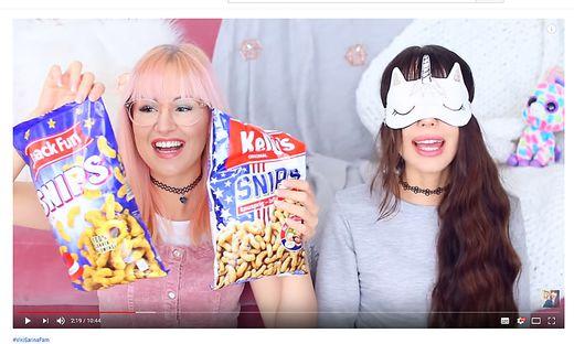 Die Grazer Youtube-Stars Viktoria und Sarina