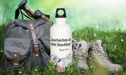Die Kleine Zeitung-SIGG-Flasche ist ein toller Begleiter für den Wandertag