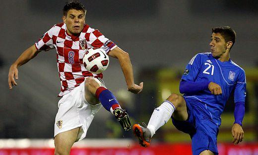 FUSSBALL - UEFA EURO 2012, Quali, CRO vs GRE