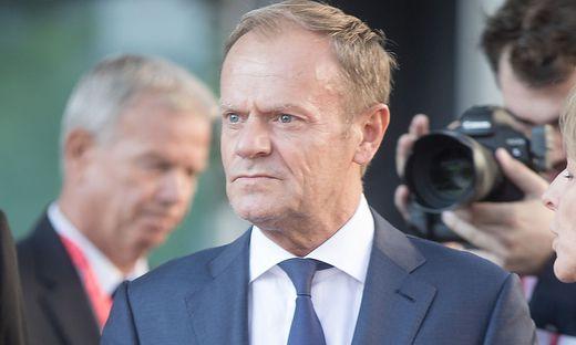 Insgesamt drei Briefe erhielt EU-Ratschef Tusk