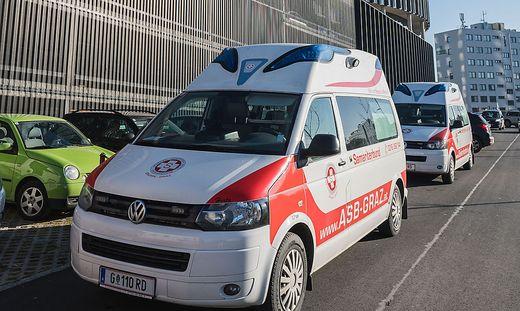 Fahrzeuge des ASB Graz (Archivfoto)
