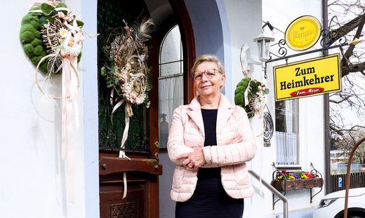 Anna Moser schließt ihr Gasthaus in Andritz. Für das Lokal hat sich kein Nachfolger gefunden.