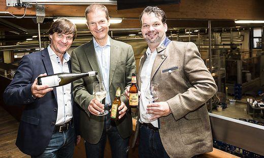 Neue Partnerschaft: Günther Jordan, Klaus Möller und  Nikolaus Riegler