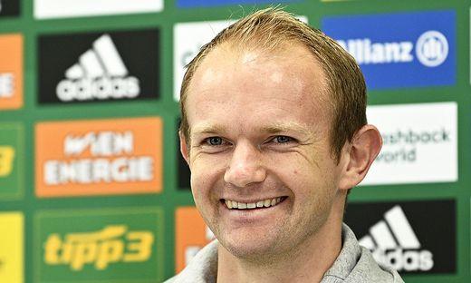 FUSSBALL TIPICO BUNDESLIGA:  PRESSEKONFERENZ SK RAPID WIEN