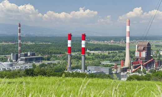 Der Kraftwerksverbund Mellach. Das Kohlekraftwerk wird 2020 abgestellt